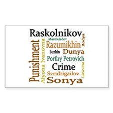 Dostoevsky Characters Decal