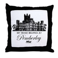 Jane Austen Gift Throw Pillow