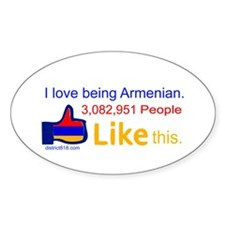 LIKE BUTTON Decal