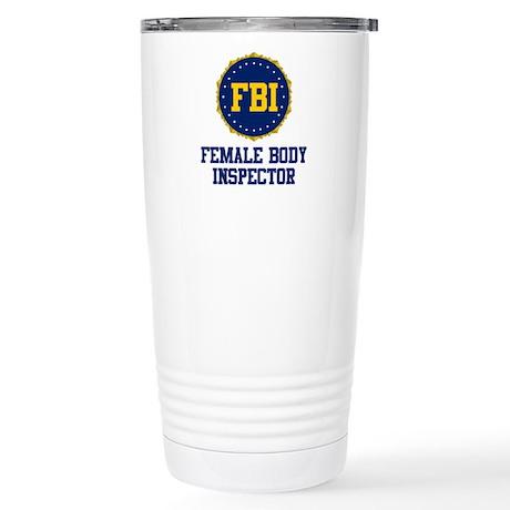 FBI Female Body Inspector Stainless Steel Travel M
