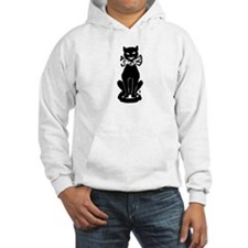 Cool Cat with Bowtie Hoodie