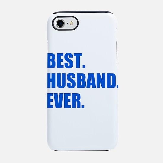 Blue Best Husband Ever iPhone 7 Tough Case