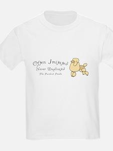 Purebred Poodle Kids T-Shirt