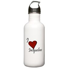 I love Jacqueline Water Bottle