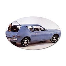 1971 Gremlin 22x14 Oval Wall Peel