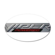 Viper 22x14 Oval Wall Peel