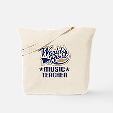 Music Teacher Tote Bag