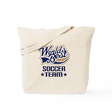 Soccer Team Tote Bag
