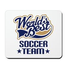 Soccer Team Mousepad