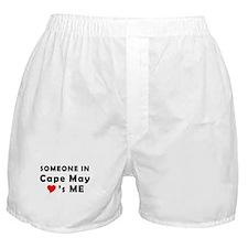 Cape May, NJ - Jazz Festival Boxer Shorts