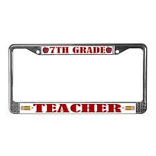 7th Grade License Plate Frame
