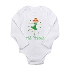 Irish Princess Long Sleeve Infant Bodysuit
