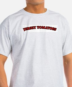 New Jersey Tomatoes Ash Grey T-Shirt