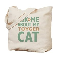 Toyger Cat Tote Bag