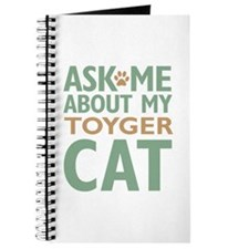 Toyger Cat Journal