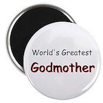 "Greatest Godmother 2.25"" Magnet (10 pack)"