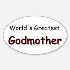 Greatest Godmother Decal