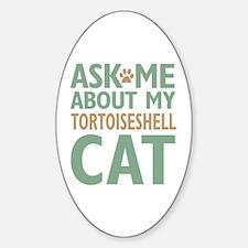 Tortoiseshell Cat Decal