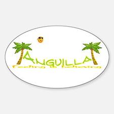 Cute Anguilla Decal
