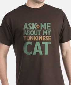 Tonkinese Cat T-Shirt