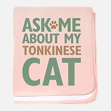 Tonkinese Cat baby blanket