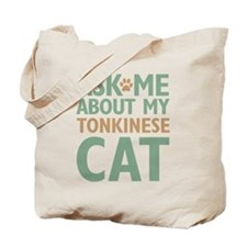 Tonkinese Cat Tote Bag