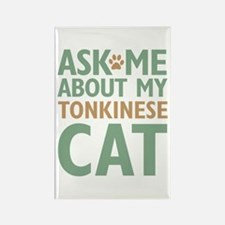 Tonkinese Cat Rectangle Magnet