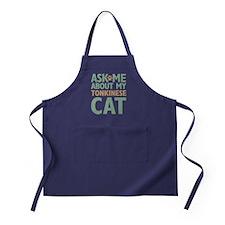 Tonkinese Cat Apron (dark)