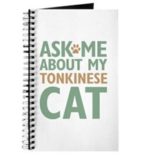 Tonkinese Cat Journal