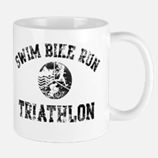 Swim Bike Run Logo Mug