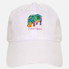I Love Hippos of Many Colors Cap