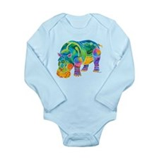 Most Popular HIPPO Long Sleeve Infant Bodysuit