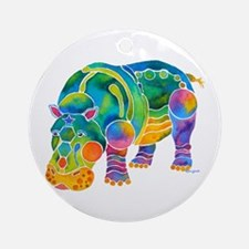 Most Popular HIPPO Ornament (Round)