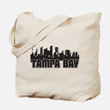 Tampa Bay Skyline Tote Bag