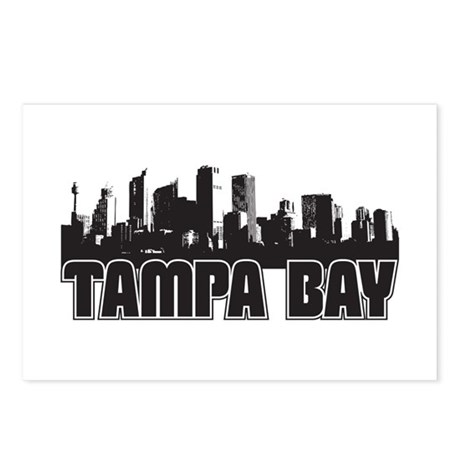 Tampa Bay Skyline Postcards (Package of 8)