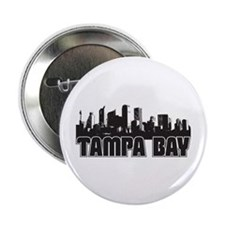 "Tampa Bay Skyline 2.25"" Button"