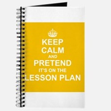 Keep Calm and Pretend it's on the Lesson Plan Jour