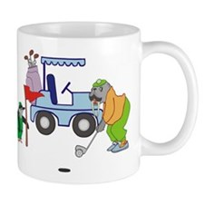 Playing Golf Mug