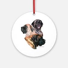 Mastiff 159 Ornament (Round)