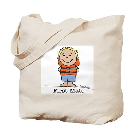 First Mate Boy 1 Tote Bag