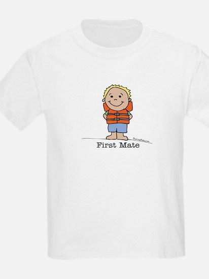 First Mate Boy 1 Kids T-Shirt