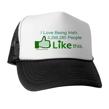 LIKE BUTTON Trucker Hat