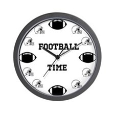 Football Time Wall Clock