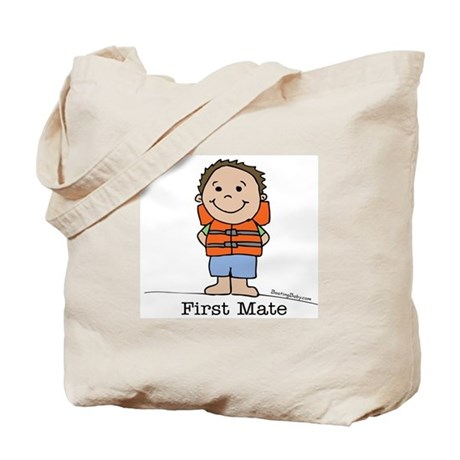 First Mate Boy 3 Tote Bag