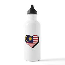I Love Malaysia Water Bottle