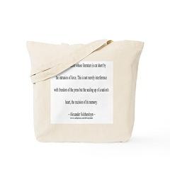 Alexander Solzhenitsyn [1] Tote Bag