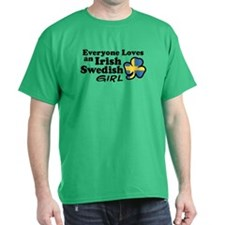 Irish Swedish Girl T-Shirt