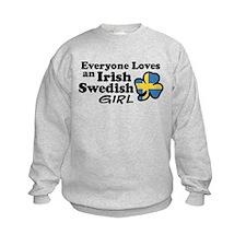 Irish Swedish Girl Sweatshirt
