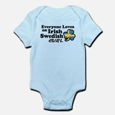 Irish Swedish Girl Infant Bodysuit