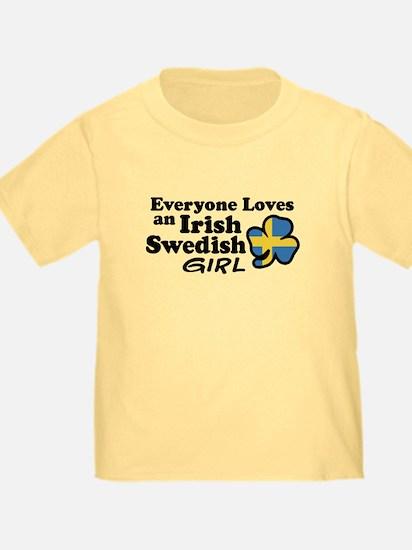 Irish Swedish Girl T